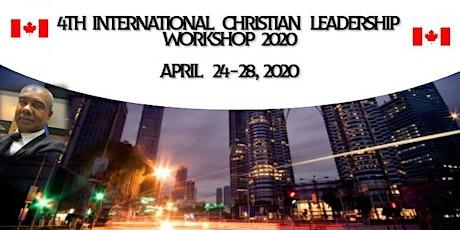 4th International Christian Leadership Workshop 2020 tickets