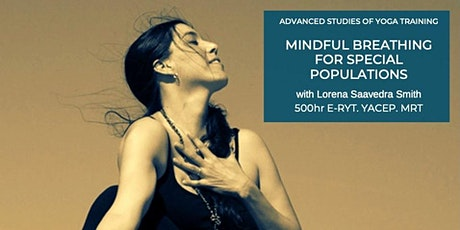 Mindful Breathing for Special Populations tickets