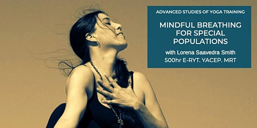 Mindful Breathing for Special Populations
