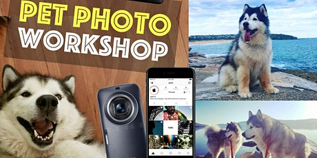 PET PHOTO Workshop. 3 hr outdoor class Hobart tickets