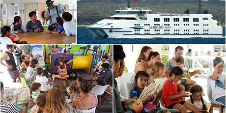 Marine Mammal Foundation on Searoad Ferries 23 Jan 2020, Port Phillip Bay : Queenscliff to Sorrento, 12 midday tickets