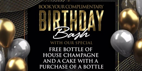 RSVP BIRTHDAY BASH at VISION RESTAURANT and LOUNGE tickets