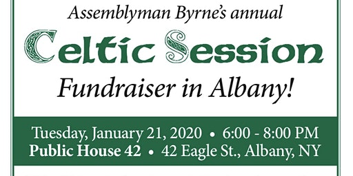 Albany Celtic Session with Assemblyman Byrne