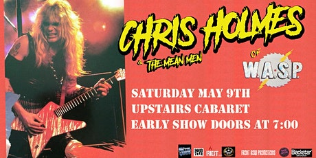 Chris Holmes (of WASP) - Victoria tickets