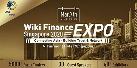 Wiki Finance EXPO Singapore 2020 tickets