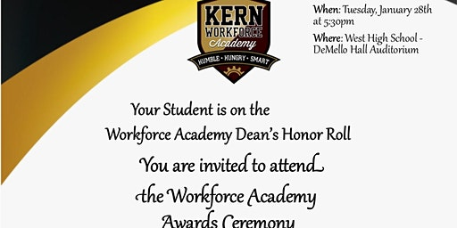 Workforce Awards Ceremony - January 2020