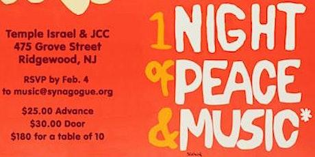 Ridgewoodstock Music & Art Fair presents a Night of Music, Peace, and Food tickets