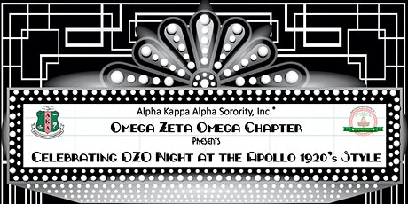 Celebrating OZO Night at the Apollo 1920's Style tickets