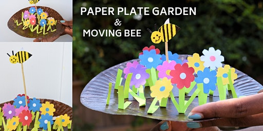 Paper plate Buzzing Bee