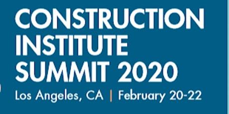Construction Institute Summit tickets