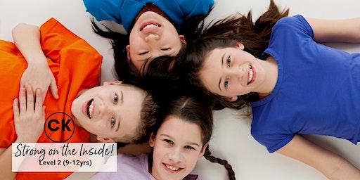 Confident Kids Program - Level 2 (9-12years) Term 1/2020