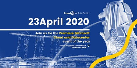 Experts Live Asia Pacific 2020 tickets