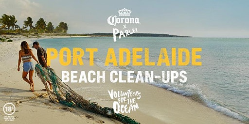 Corona x Parley Beach Clean-Up Port Adelaide