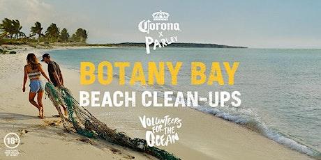 Corona x Parley Beach Clean-Up Botany Bay tickets