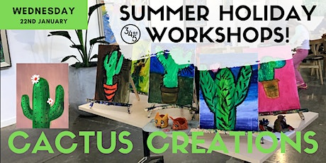 Summer School Holiday workshop: Cactus Creations tickets