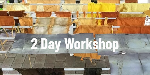 Natural Dyeing - Botanical Colours and Impressions (2 day workshop)