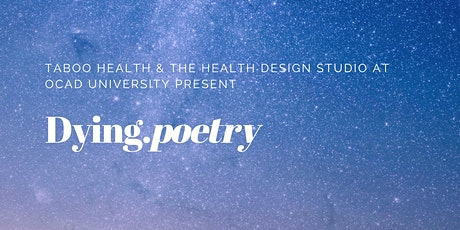 Dying.poetry tickets