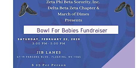 Delta Beta Zeta Chapter Bowl For Babies Fundraiser tickets
