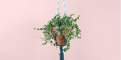 CRAFTYNOONS - Make a Macrame Plant Hanger tickets