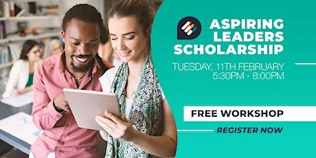 Aspiring Leaders Scholarship Workshop tickets