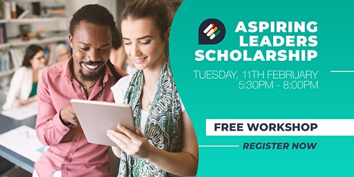 Aspiring Leaders Scholarship Workshop