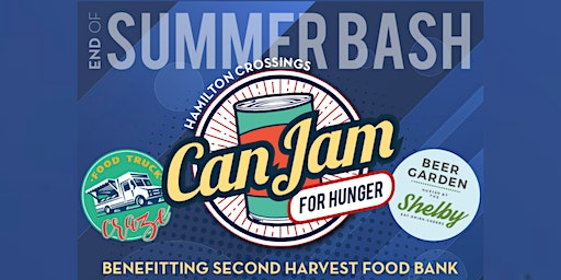 Can Jam For Hunger Benefitting Second Harvest Food Bank