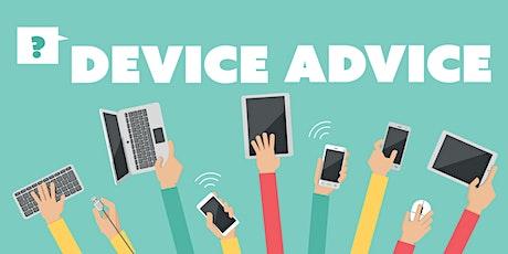 Device Advice - Preston Library tickets