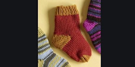 CRAFTYNOONS -  Sock Knitting - Beginners Class tickets