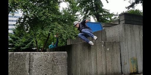 Parkour for 9-12yrs (Chimpanzees): Drop-In Community Class