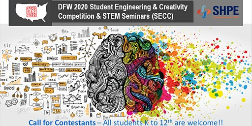 2020 SECC Call for Contestants for 3D-print Project (Students 9-12th)
