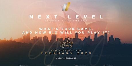 Next Level Sydney Conference | NXT LVL Business tickets
