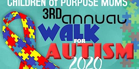 "COP MOMS   2020 ""WALK FOR AUTISM"" tickets"