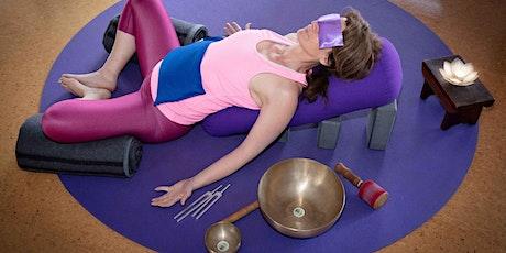 Tue 7pm Restorative Yoga w Sound Massage tickets
