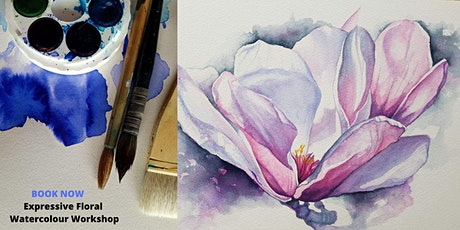 Expressive Floral Watercolour Workshop tickets