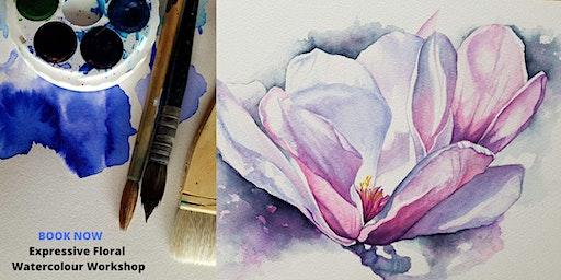 Expressive Floral Watercolour Workshop