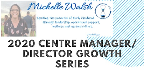 2020 Centre Leader Growth Series - Session 1  tickets