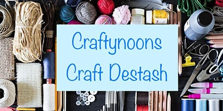 Craftynoons - Craft Stash Swap Meet tickets