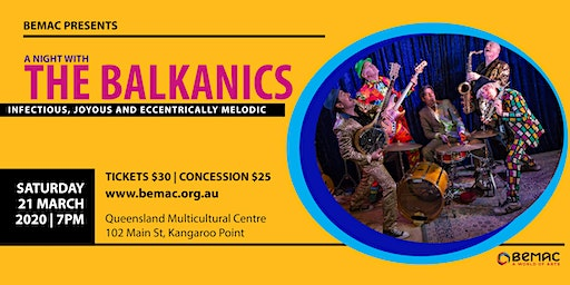 BEMAC presents - A Night with The Balkanics