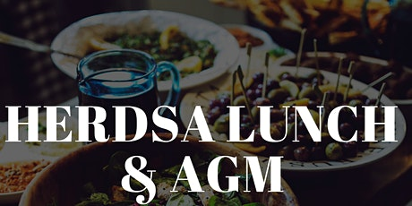 HERDSA AGM and Lunch tickets