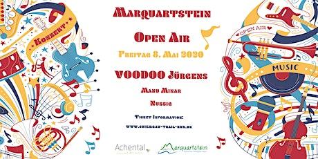Marquartstein OPEN AIR Konzert mit VOODOO Jürgens Tickets