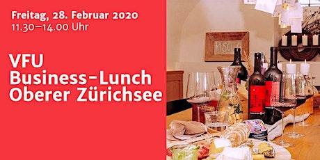 Business-Lunch, Zürichsee, 28.02.2020 Tickets