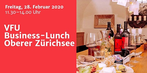 Business-Lunch, Zürichsee, 28.02.2020