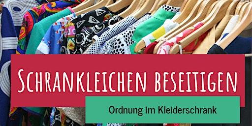 Schrankleichen beseitigen - Ordnung im Kleiderschrank