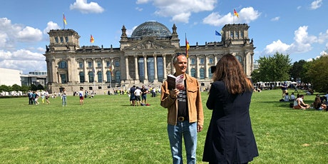 Media Tour: With  Author Robert Pimm at the Reichstag - English / German tickets
