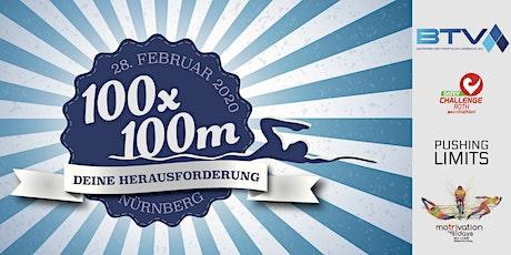 100x100 m – Das Schwimmevent für Einzelsportler und Staffeln in Nürnberg Tickets