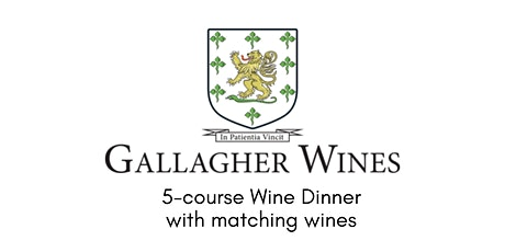 Gallagher Wines Dinner tickets