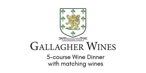 Gallagher Wines Dinner