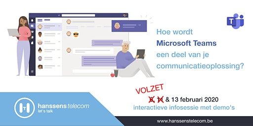 Interactieve infosessie Microsoft Teams