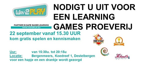 Proeverij met live business games - 22 september 2020 tickets