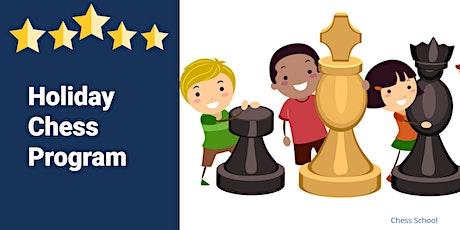 Holiday Chess Program 2 tickets